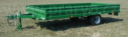 Návěs traktorový NS 5 V s bočnicemi a koly 10.0/75-15.3 18PR