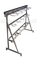Stojan nerezový na 5 zugských láhví s rozvody (bez láhví) - výškově stavitelné nohy