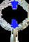 Oblouk na keser pozinkovaný průměr 53 cm