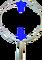 Oblouk na keser pozinkovaný průměr 63 cm