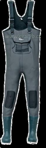 Boty kalhotové neoprénové 5 mm (prsačky, brodící kalhoty)