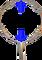 Oblouk na keser nerez průměr 43 cm standardní