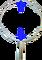 Oblouk na keser pozinkovaný průměr 43 cm