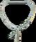 Půloblouk na keser pozinkovaný,dolní hrana 49 cm, výška 39 cm