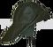 Klobouk rybářský zelený VINYTOL koženkový