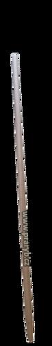 Násada na keser délka 200 cm - s kuželovou tulejí, průměr 40 mm, soustružená
