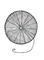 Síť vrhací oka 6 mm / průměr 1,5 m