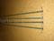 Tyč kompletní ke konstrukci čeřenu 1,5 x 1,5 m laminátová s kováním - náhradní díl - délka 1,3 m, průměr 10 mm