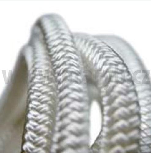 Lano pletené průměr 6 mm s duší PA