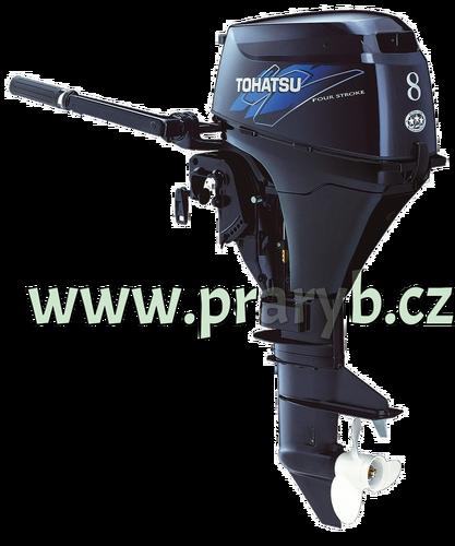 Motor lodní závěsný spalovací TOHATSU MFS9,8B L, čtyřtakt., 7,2kW s dlouhou nohou