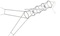 Vězenec síťový průměr 0,9 m délka 6 m oka 15 mm se 2 křídly 10 m dlouhými