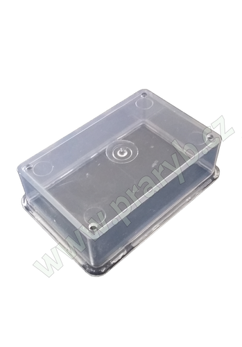 Kryt plastový hodinového strojku ke krmítku s hodinovým strojkem - náhradní díl