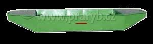 Loď ocelová 4 m dvoušpicá lakovaná