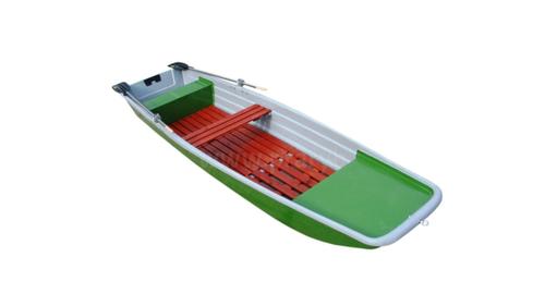 Loď laminátová 4 m (pramice) s vesly a podlážkami