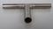 Průchodka T na provzdušňovací hadici nerezová (vývod 3 x 12 mm)