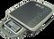 Váha plošinová přenosná digitální CAS PB 30/60kg, obchodní , bateriová/na síť