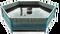 Vak nádrže (bazénu) plachtový 4 x 0,9 m šestiboký, objem cca 12.000 litrů - ke konstrukci