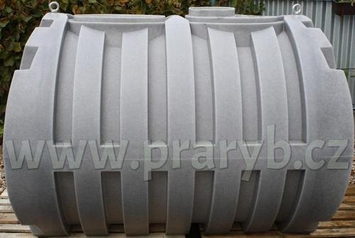 Nádrž PE (jímka na vodu) 3.600 litrů