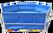 Bazén plachtový šestiboký 6 x 0,9 m s pozinkovanou konstrukcí, objem cca 18.000 litrů