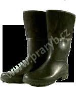 Holínky gumofilcové (teplušky) černé gumové