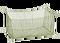 Odchovna síťová (klec) oka 4 mm / 0,7 x 1,5 x 0,6 m, bez zátěže, s výpustným rukávem