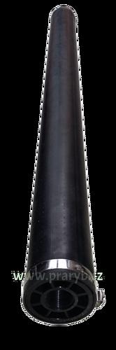 """Vzduchovací válec - trubkový difuzor, průměr 4 cm délka 60 cm, vnitřní šroubení 3/8"""" - Doporučený průtok 33 - 100 litrů vzduchu/min"""