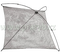 Čeřen 1 x 1 m oka 8 mm monofilový - (výplet - bez konstrukce)
