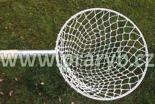 Keser kaprový pozink rám průměr 53 cm výplet ruční oka 30/2 mm hloubka 55 cm, oblouk