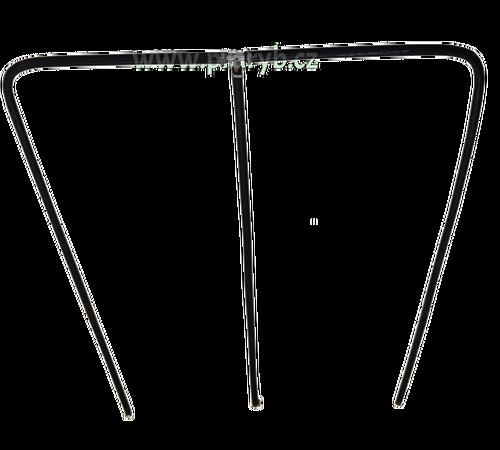 Provzdušňovací rám do velké přepravní bedny na ryby, 80 x 170 cm tříramenný