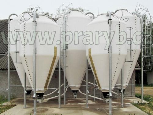 Silo laminátové objem 6 m3 (nosnost 2,8 tun) bez výpusti
