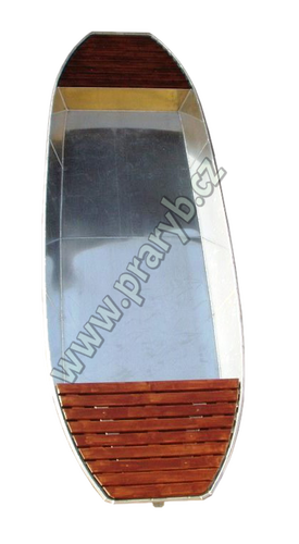 Loď hliníková 6 m dvoušpicá