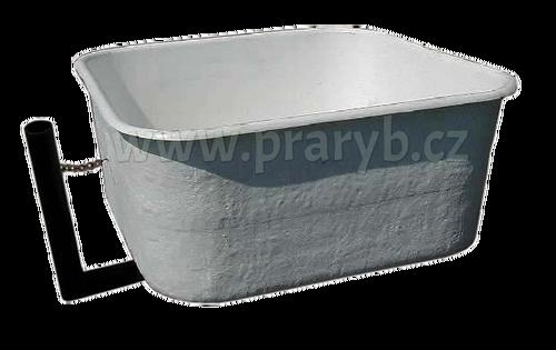 Bazén (žlab) laminátový s výpustí 131 x 131 x 57 cm, 810 litrů