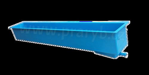 Kolébka pstruží (žlab) laminátová 340 x 51 x 40 cm, 610 litrů