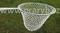 Keser kaprový nerez rám průměr 63 cm výplet ruční oka 30/2 mm hloubka 90 cm, oblouk