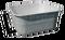 Bazén laminátový s výpustí 131 x 131 x 57 cm, 810 litrů