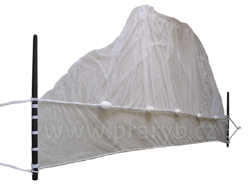 Vatka oka 8 mm / 3 x 4,5 m (obvod jádra 6 m) dvojitá zátěž