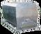 Bedna přepravní hliníková zkosená,  2,14(2) x 1 x 1 m na živé ryby, objem 1,9 m3