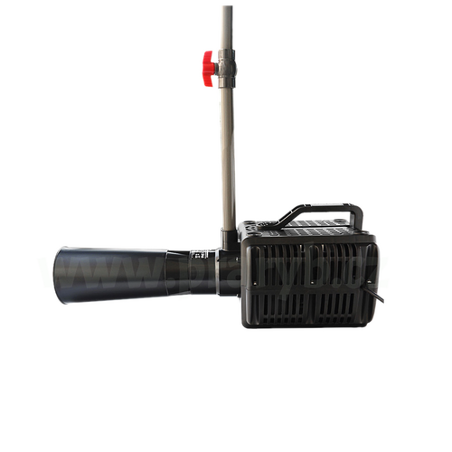 Aerátor - difuzér (injektor) s čerpadlem, průtok 1.333 litrů/min., 370 W / 220 V - Objem dodaného vzduchu: 390 l/min