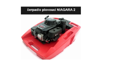 Čerpadlo plovoucí NIAGARA 2 s motorem Honda GXV 160