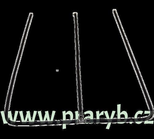 Prokysličovací rám do menší přepravní bedny rám 0,8 x 0,8 m tříramenný