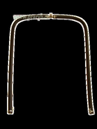 Prokysličovací rám do menší přepravní bedny tvaru U, 1 x 0,65 m
