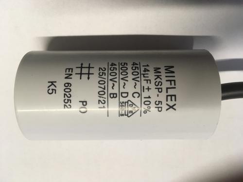 Rozběhový kondenzátor k aerátoru SPLASH 0,5M 14uF - náhradní díl