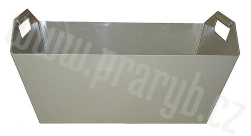 Koš čtyřboký plastový PP (vanička), objem cca 60 litrů
