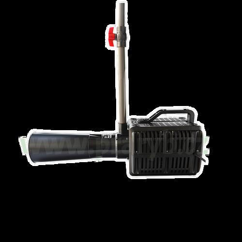 Aerátor - difuzér (injektor) s čerpadlem, průtok 1 500 litrů/min., 400 W / 220 V - Objem dodaného vzduchu: 470 l/min