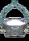 Mušle vážní hliníková na cca 100 kg ryb bez děr
