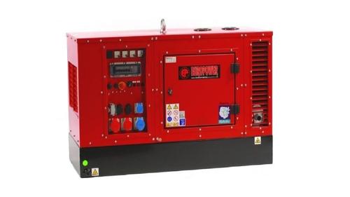 Elektrocentrála EPS 14 TDE diesel, se základnou na paletu