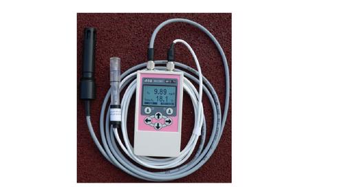 Měřič pH, kyslíku a teploty ve vodě MFD 79 OPTO digit. s pamětí +pufry a - čidla měření pH a kyslíku (na čidla záruka 6 měsíců)