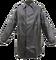 Kabát rybářský lovecký LOVEČKA se zvýšeným límcem přezky+druky gumotextilní černý
