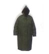 Plášť nepromokavý s kapucí zelený