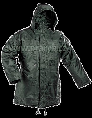 Pracovní bunda zateplená nepromokavá s kapucí